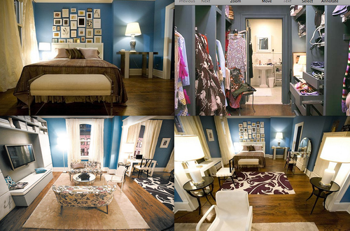 l 39 appartemment de carrie bradshaw votre nouvel maison le blog de place to be media. Black Bedroom Furniture Sets. Home Design Ideas