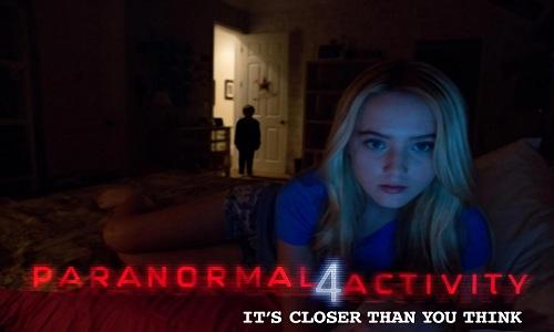 Microsoft et sa Kinect fait trembler dans Paranormal Activity 4