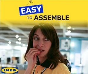 easy to assemble, placement produit, ikea, brand content, web serie